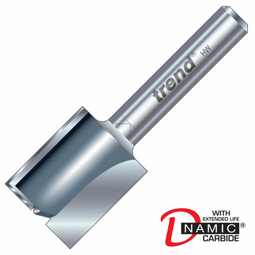 Trend 3/8 Trend PRO TCT Two Flute Straight Cutter (12mm)