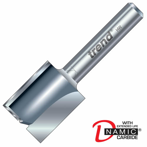 Trend 3/80 Trend PRO TCT Two Flute Straight Cutter (12.7mm)