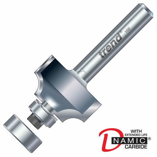 Trend 46/115 Trend PRO TCT Bearing Guided Ovolo 1.6mm Radius