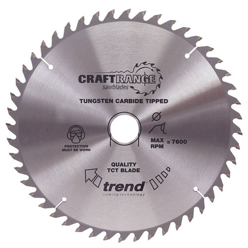 Trend CSB/16548B Trend 165mm Circular Saw Blade for Makita