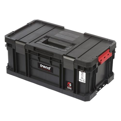 Trend MS/C/200 Modular Storage Compact 200mm Toolbox with Dividers