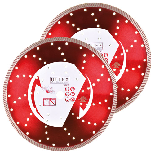 Ultex ULT30205B Ultex 300mm Ultra Turbo Diamond Blade Twinpack