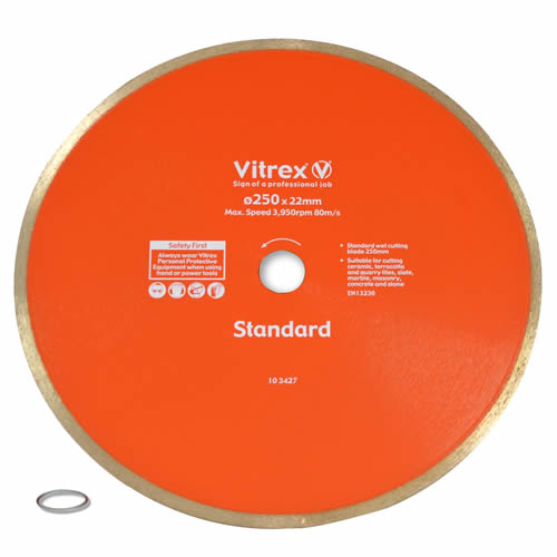 Vitrex Diamond Blade 250mm Standard