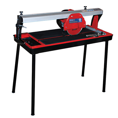 Vitrex 800W Bridge Tile Saw 240 Volt 240 Volts