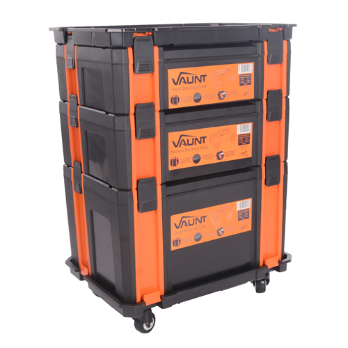 Vaunt 12059 Stackable Case Trolley Set 2