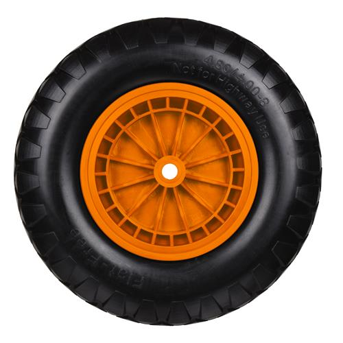 Vaunt 17022 Wheelbarrow Orange Puncture Proof Wheel