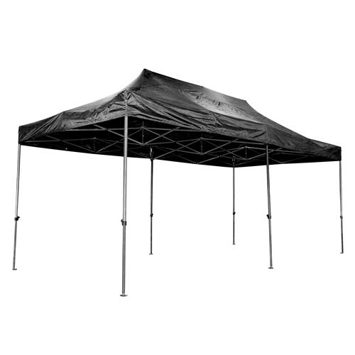 Vaunt 18003 Vaunt Black Folding Gazebo 3m x 6m