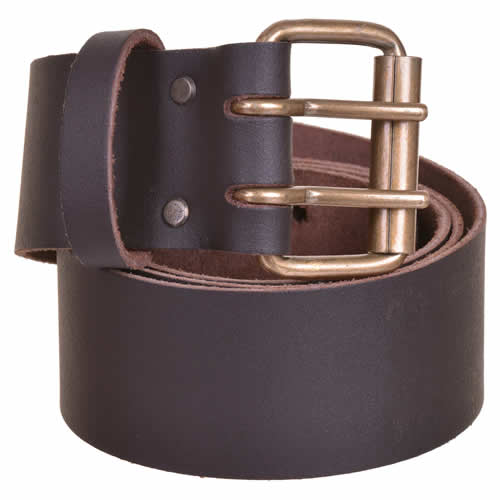 Vaunt 26007 Brown Oil Tan Leather 2'' Belt Double Pin