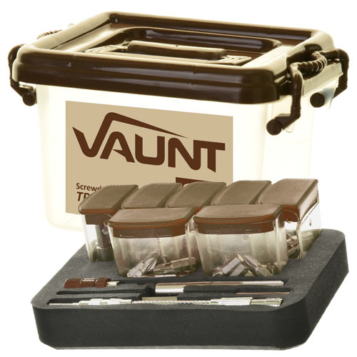 Vaunt Screwdriver Bit Trade Pack -129 Piece