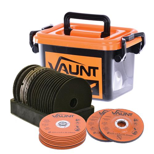 Vaunt 30008 20 Piece 115mm Angle Grinder Disc Trade Pack