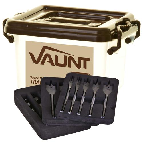 Vaunt 30012 12 Piece Wood Working Trade Pack (Brown)