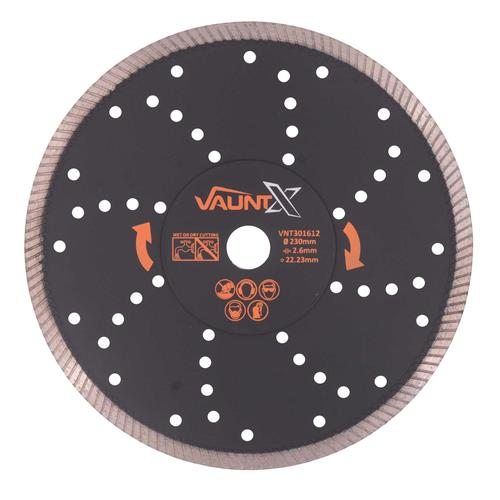 Vaunt X 301612 230mm Multipurpose Turbo Diamond Blade