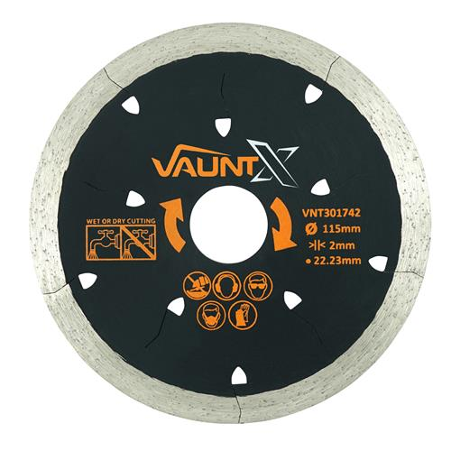 Vaunt X 115mm Tile Diamond Blade