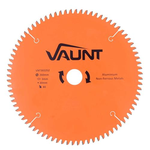 Vaunt 302242 260mm 80 Tooth TCT Blade