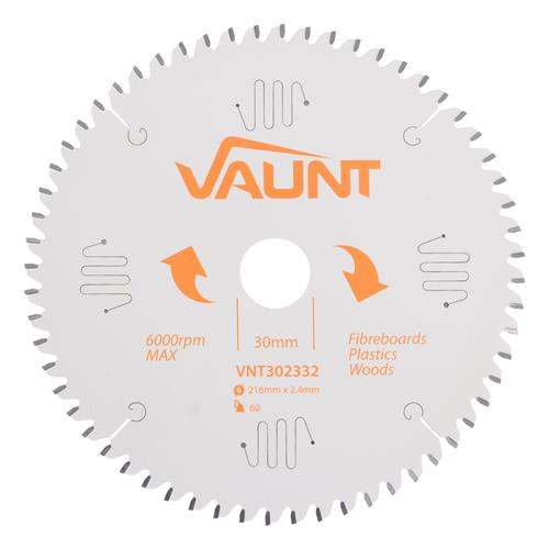Vaunt 302332 216mm 60 Tooth TCT Blade