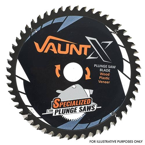 Vaunt 302532 Vaunt X 165mm 24 Tooth TCT Plunge Saw Blade with 2.2mm kerf and 20mm bore