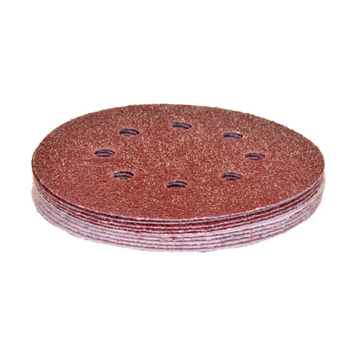 Vaunt 30261 125mm Abrasive Discs 80 Grit - Pack of 10