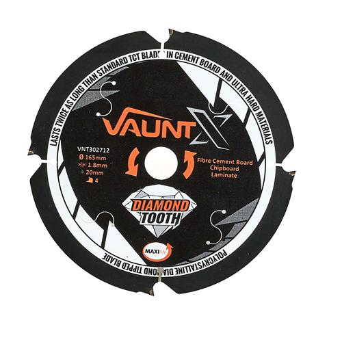 Vaunt X 302712 165mm 4 Tooth PCD Blade
