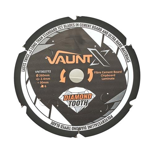 Vaunt X 302772 260mm 6 Tooth PCD Blade