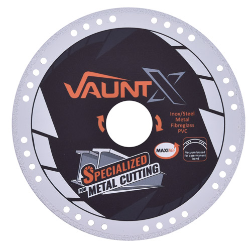 Vaunt X 302852 125mm Diamond Vacuum Brazed Metal Cutting Disc