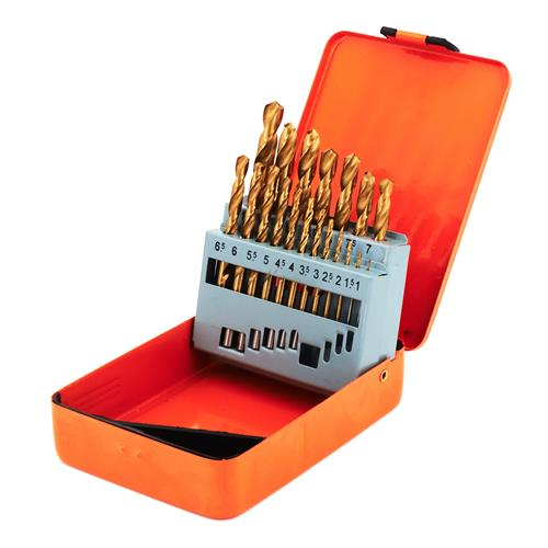 Vaunt 31312 Vaunt HSS Titanium Coated Drill Bit Set - 19 Piece