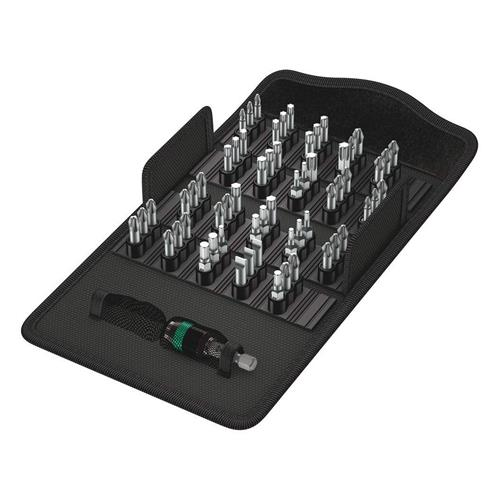 Wera 057122 WERA 'Extra Tough' 25mm 61 Piece Bit-Safe Set (Mixed)