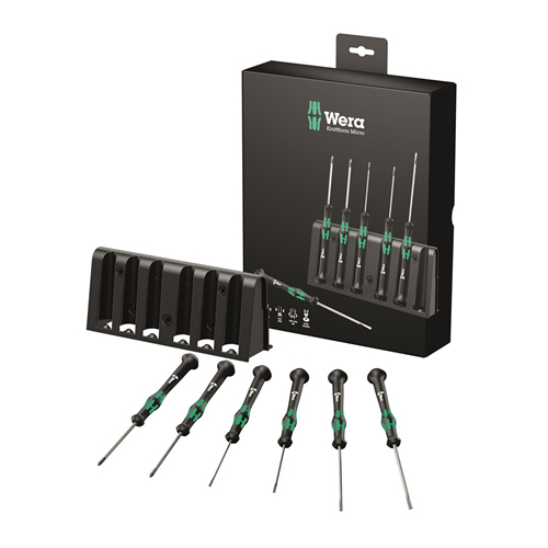 Wera Kraftform 2035/6B SL/PH Micro 6 Piece Screwdriver Set