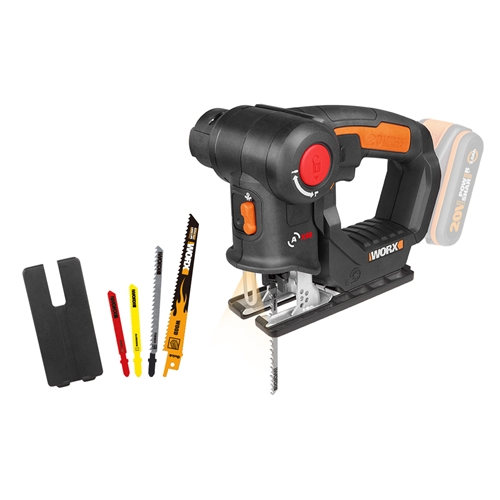 Worx WX550.9 20v MAX 2-in1 Recip / Jigsaw Multipurpose Saw - Body