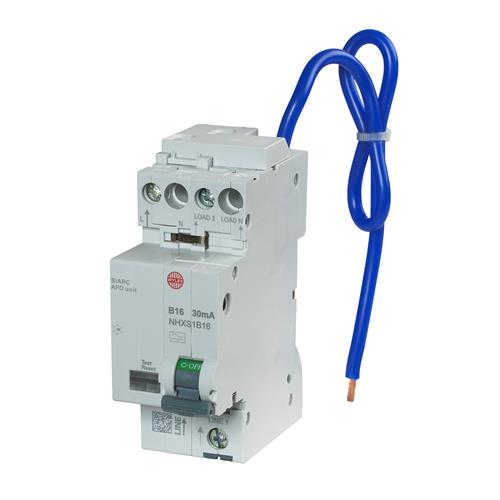 Wylex NHXSB16AFD 16A 30mA B Curve RCBO AFDD Combined CPD