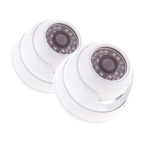 Yale HDC-302W-2 Yale Indoor HD Dome Cameras (White)