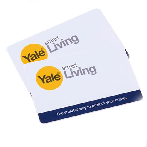 Yale P-YD-01-CON-RFIDC Yale Keyless Connected Key Cards (Pack of 2)