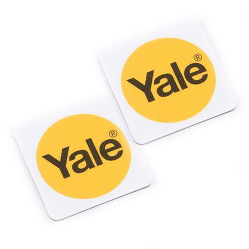 Yale P-YD-01-CON-RFIDT-WH White Keyless Connected Phone Tags (Pack of 2)