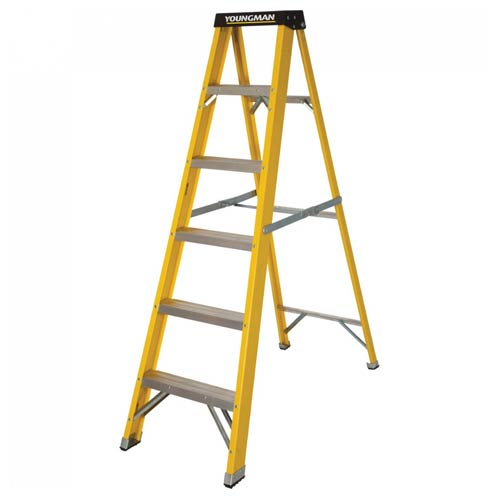 Youngman 527446 Youngman Catwalk S400 6 Tred Step Ladder