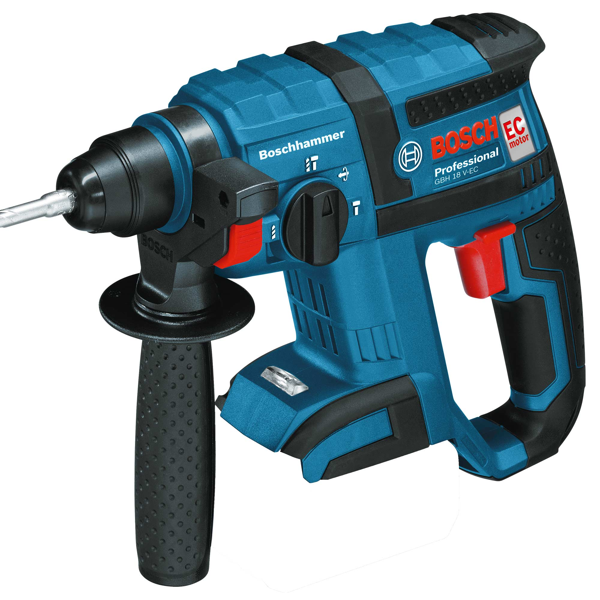 bosch gbh18vecn 18v brushless li ion sds rotary hammer drill body. Black Bedroom Furniture Sets. Home Design Ideas