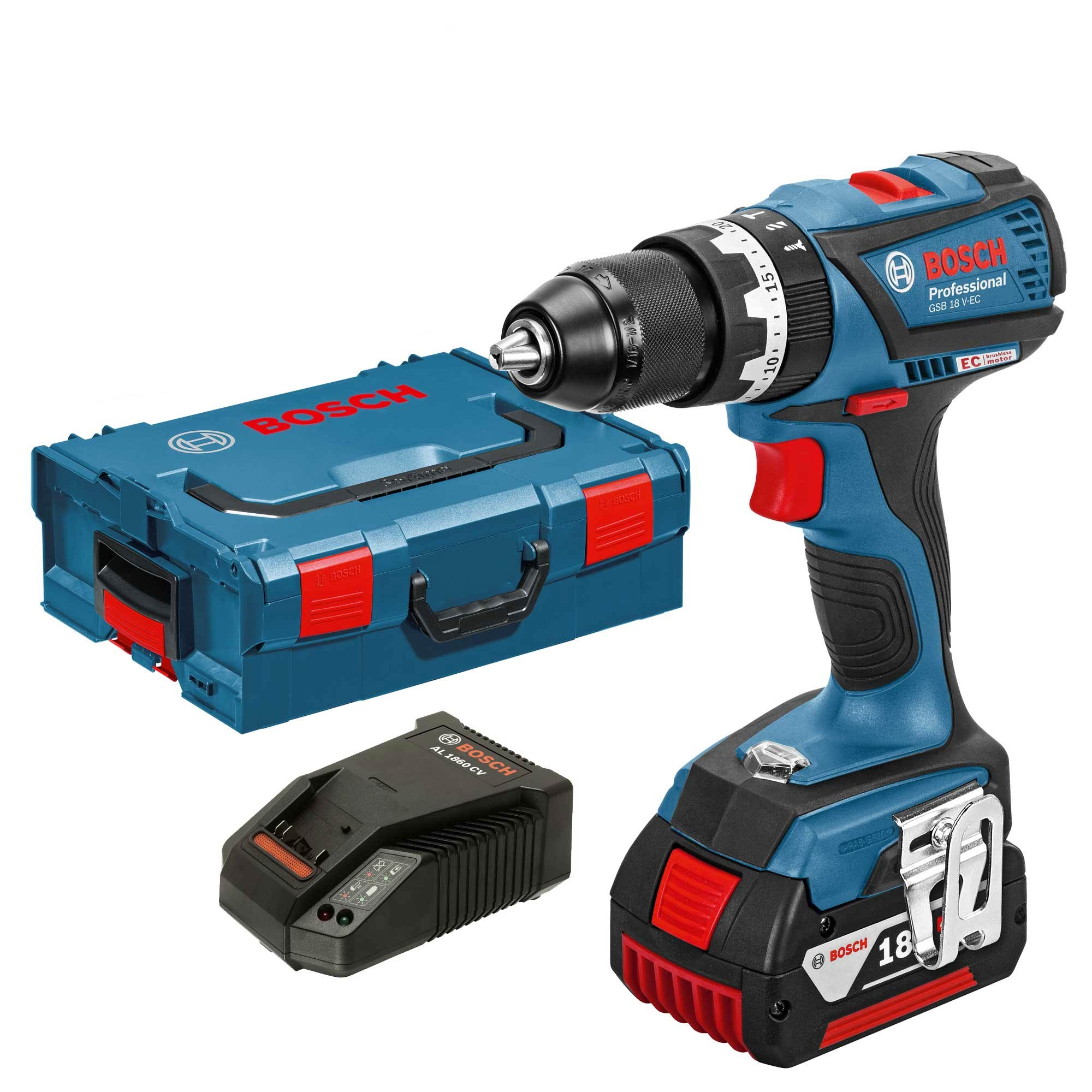 bosch gsb 18 v ec 1 18v li ion brushless combi drill. Black Bedroom Furniture Sets. Home Design Ideas