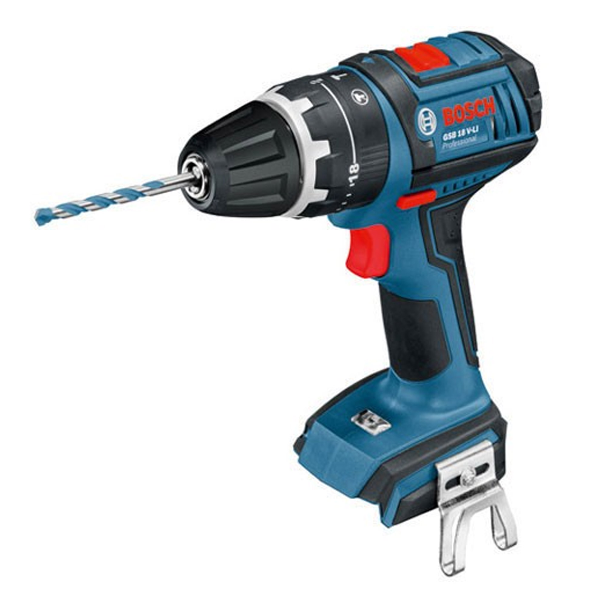bosch gsb 18 v ecn bosch 18v li ion brushless hammer drill driver body. Black Bedroom Furniture Sets. Home Design Ideas