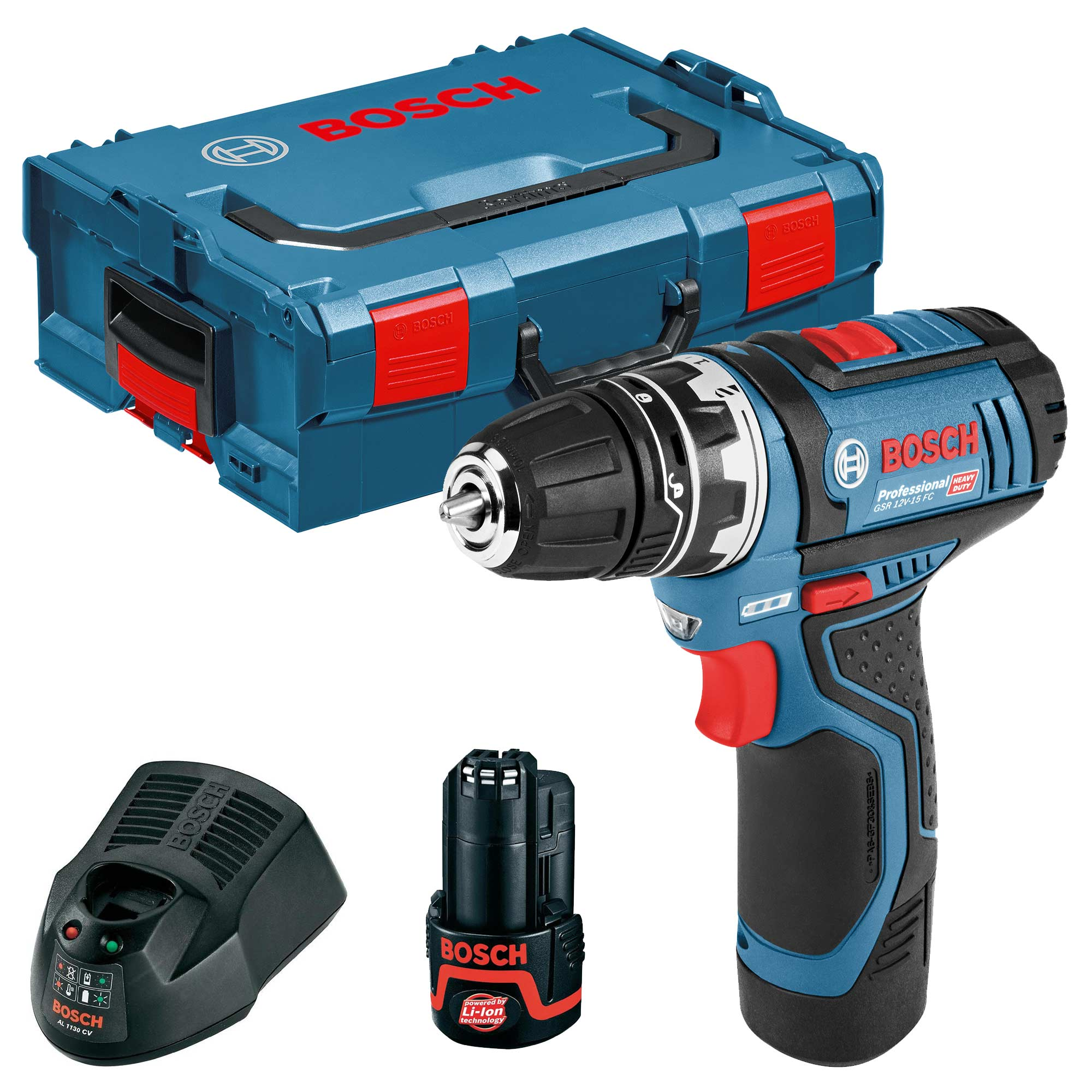 bosch gsr 12 v 15 bosch 12v cordless li ion drill driver. Black Bedroom Furniture Sets. Home Design Ideas