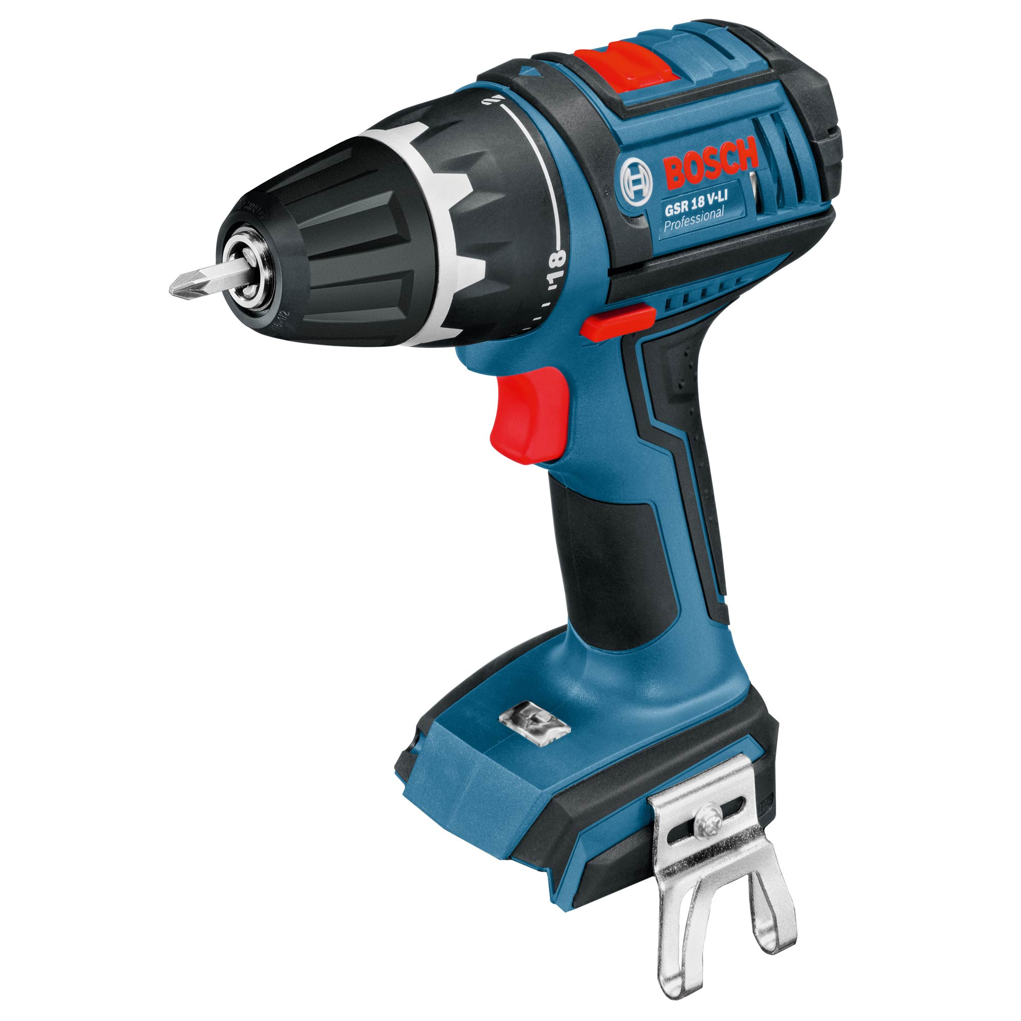bosch gsr18vlin bosch 18v cordless li ion drill driver body only. Black Bedroom Furniture Sets. Home Design Ideas