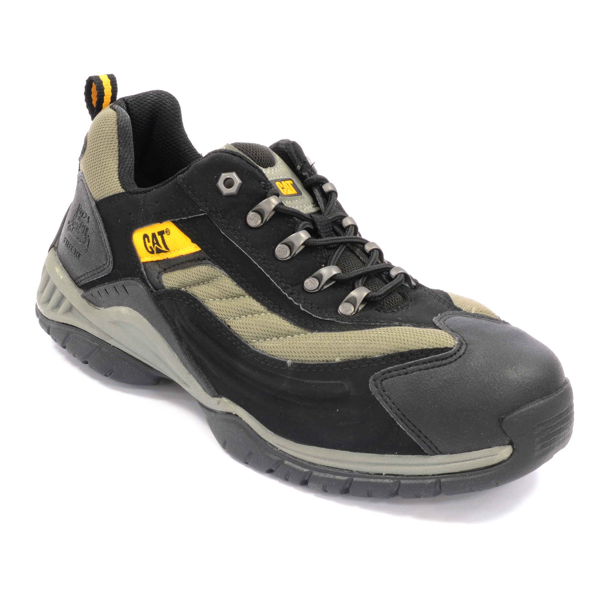 d501e467255 CAT,MOOR,Moor Safety Trainers - Black
