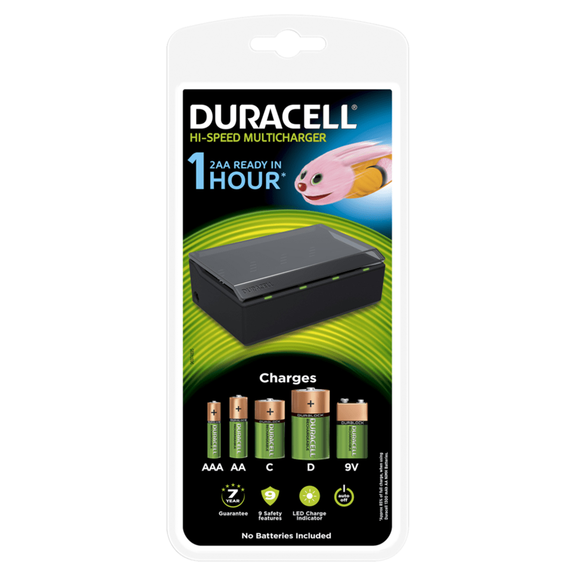 Duracell Cef22 Duracell 1 Hour Universal Multi Charger