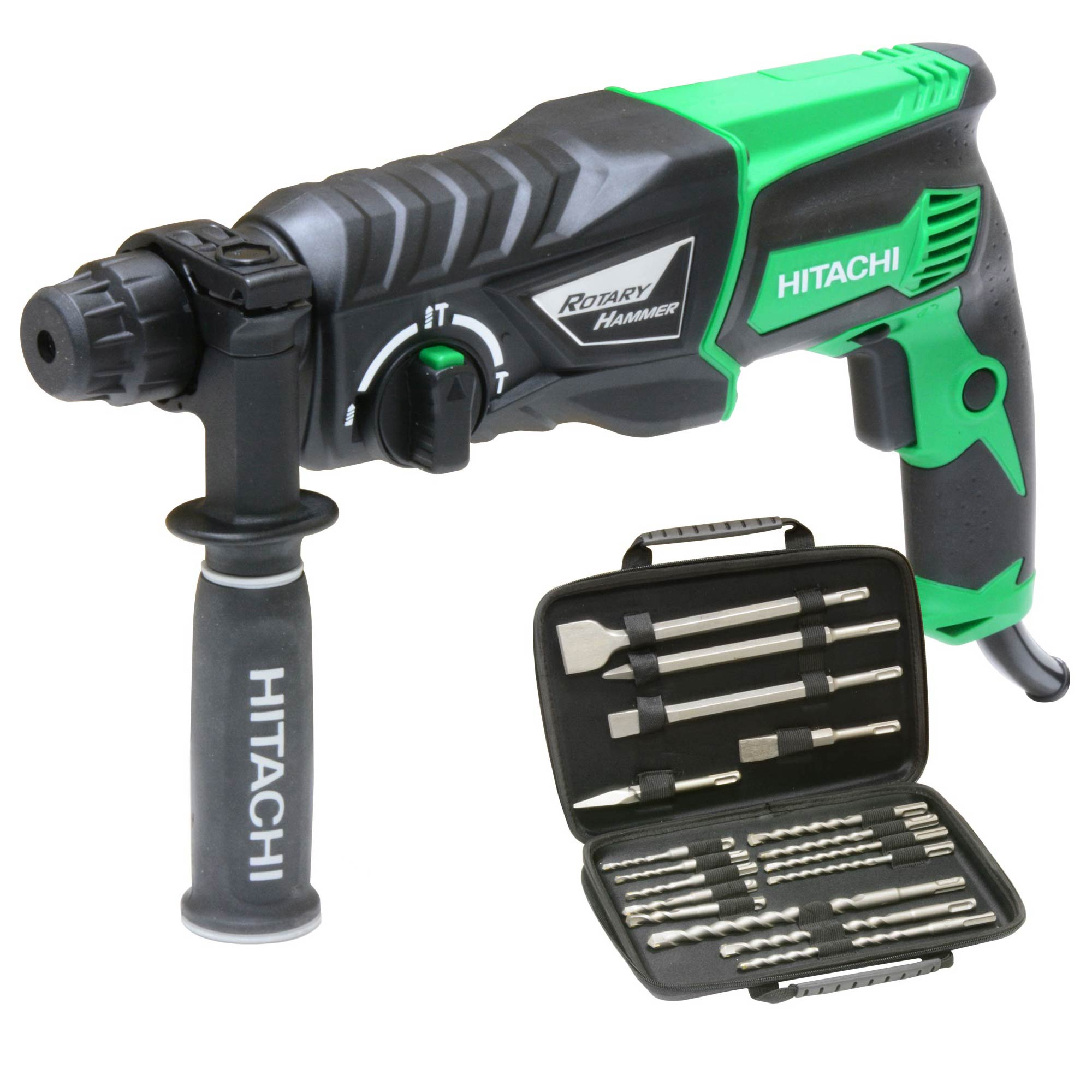 hitachi impact drill. view; play video; hitachi dh26px sds+ rotary hammer drill impact o