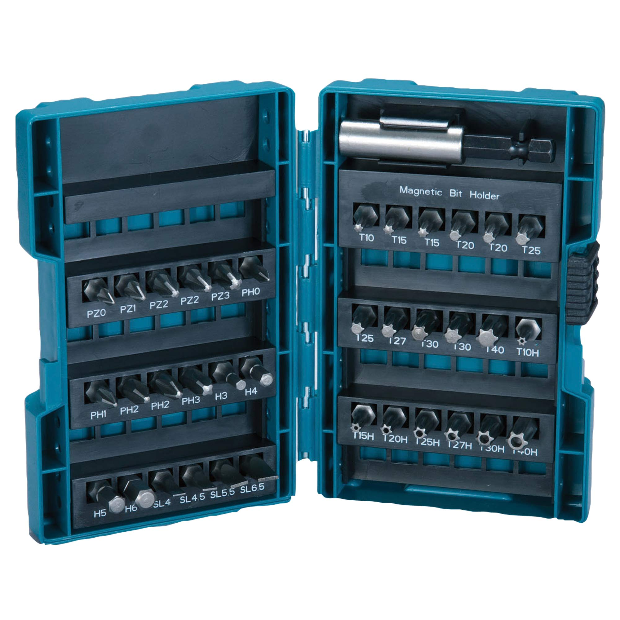 makita 28606 makita 37 piece 25mm mixed screwdriver bit set. Black Bedroom Furniture Sets. Home Design Ideas