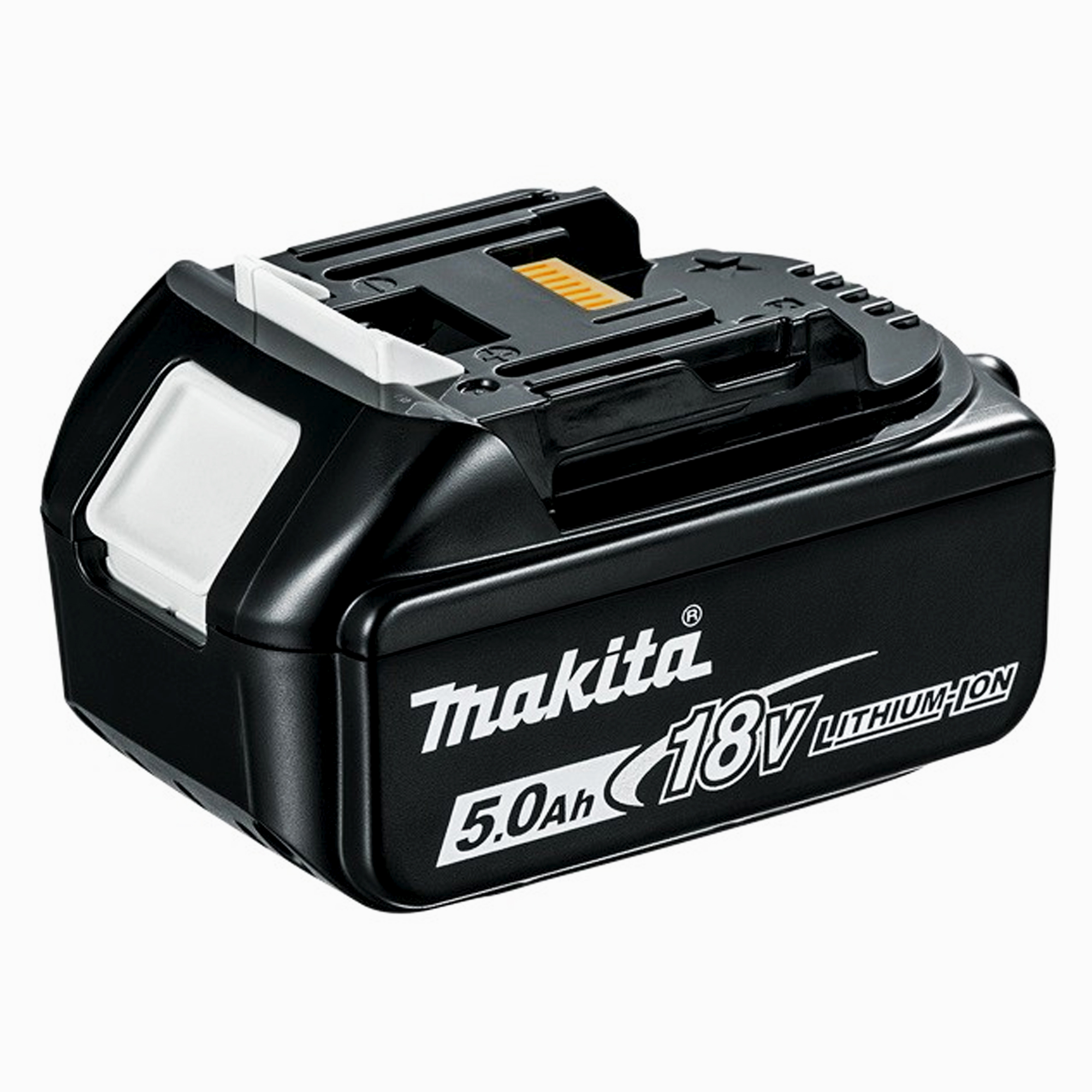 makita bl1850b makita 18v 5 0ah li ion battery with battery indicator. Black Bedroom Furniture Sets. Home Design Ideas
