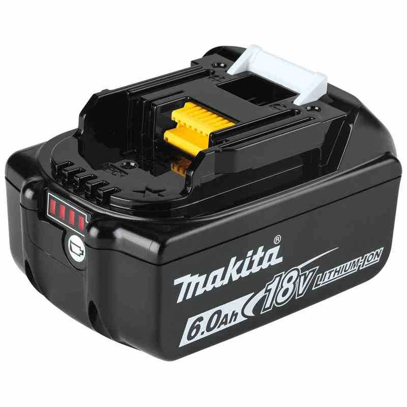 makita bl1860b makita 18v 6 0ah li ion battery