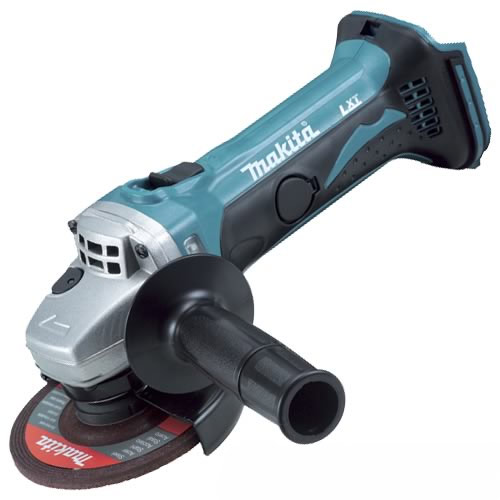 makita dga452z makita 18v lxt li ion cordless grinder 115mm body. Black Bedroom Furniture Sets. Home Design Ideas