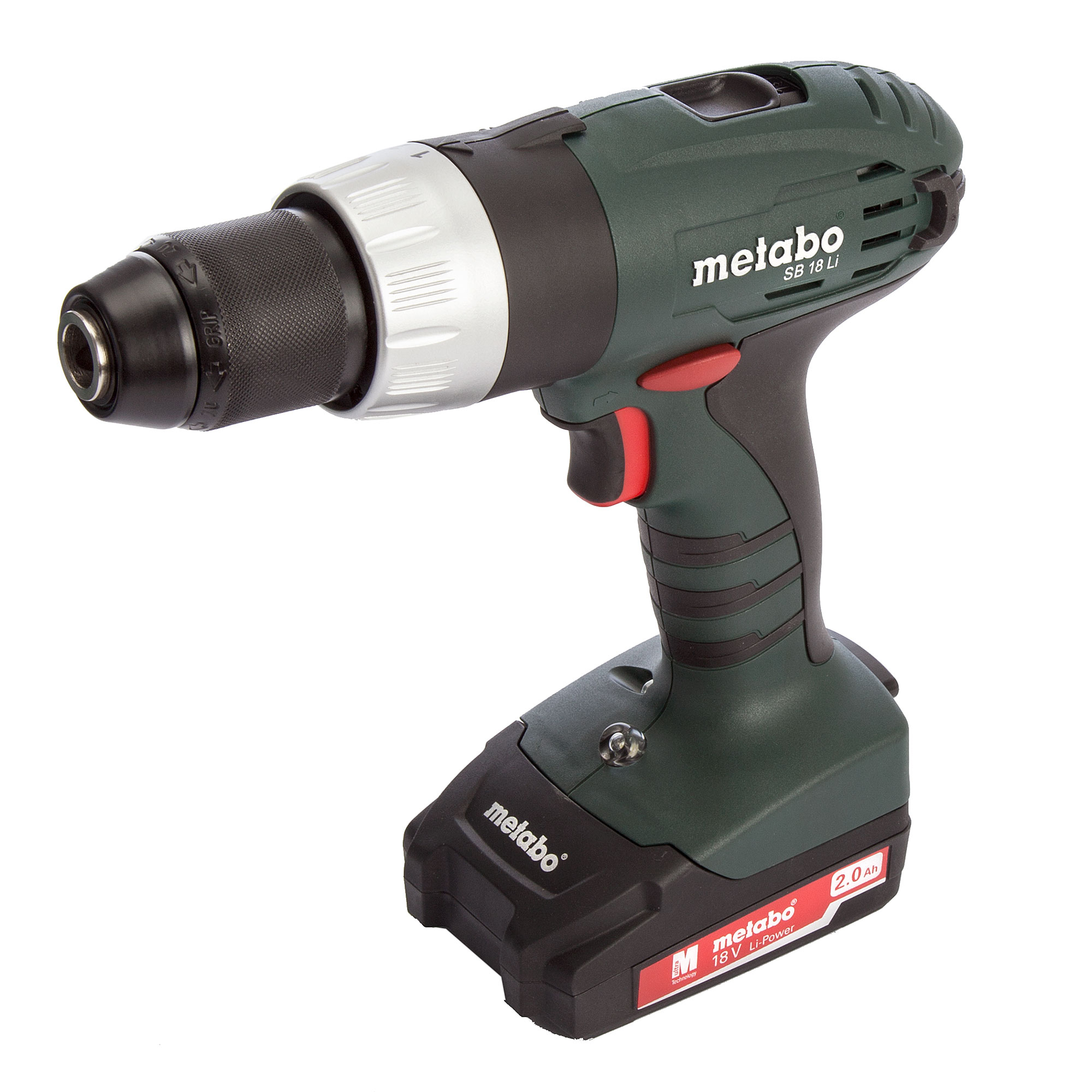 metabo sb 18 li metabo 18v hammer drill driver. Black Bedroom Furniture Sets. Home Design Ideas