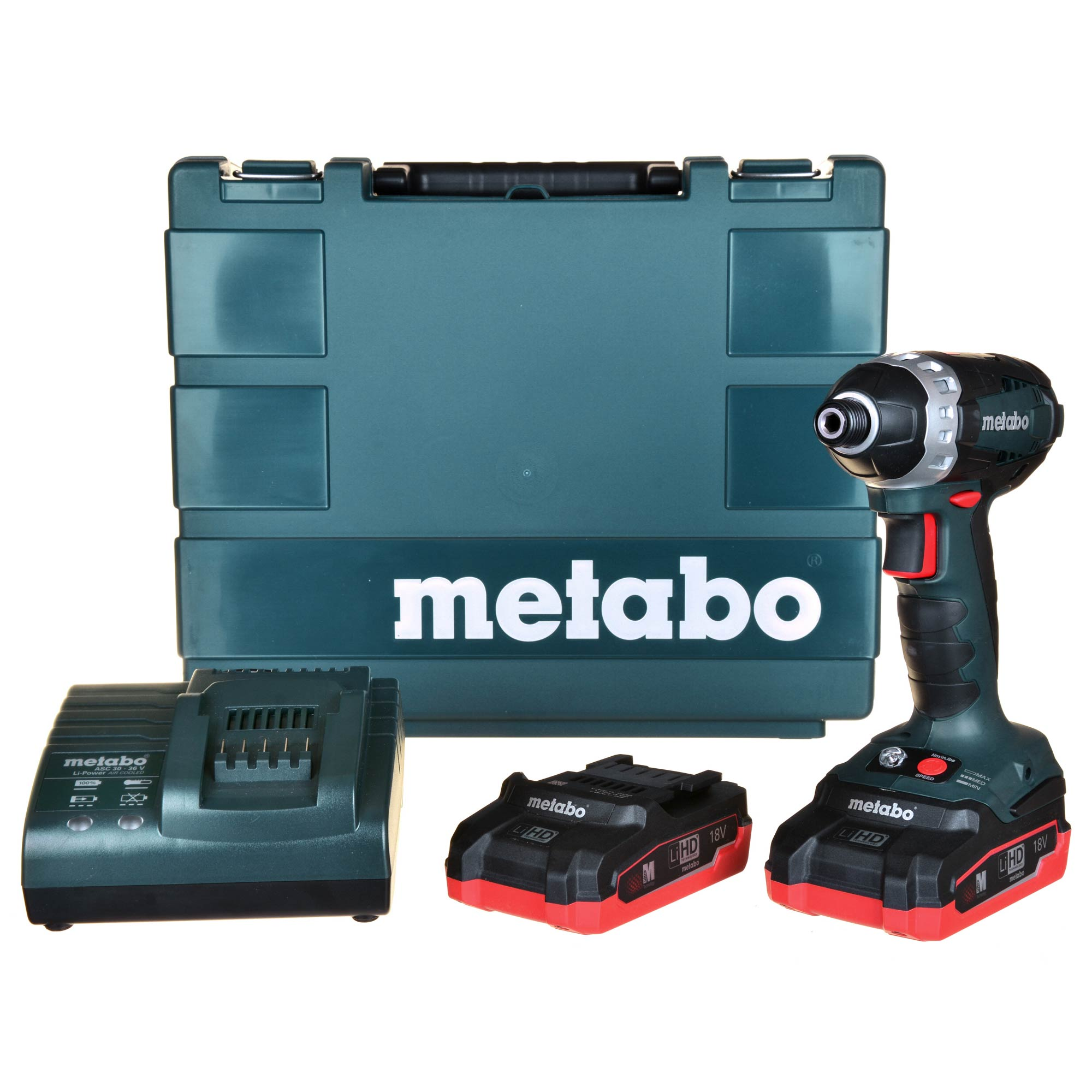 metabo ssd 18 ltx 200 metabo 18v lihd impact driver. Black Bedroom Furniture Sets. Home Design Ideas
