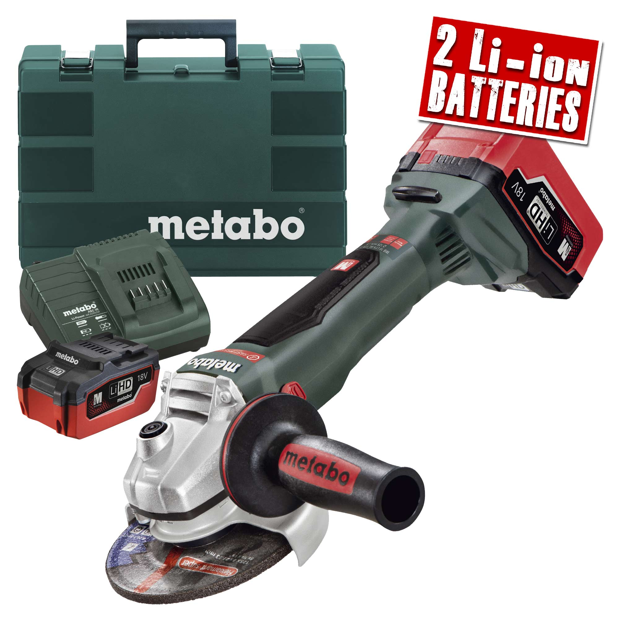 metabo wb 18 ltx bl metabo 18v lihd 125mm brushless grinder. Black Bedroom Furniture Sets. Home Design Ideas