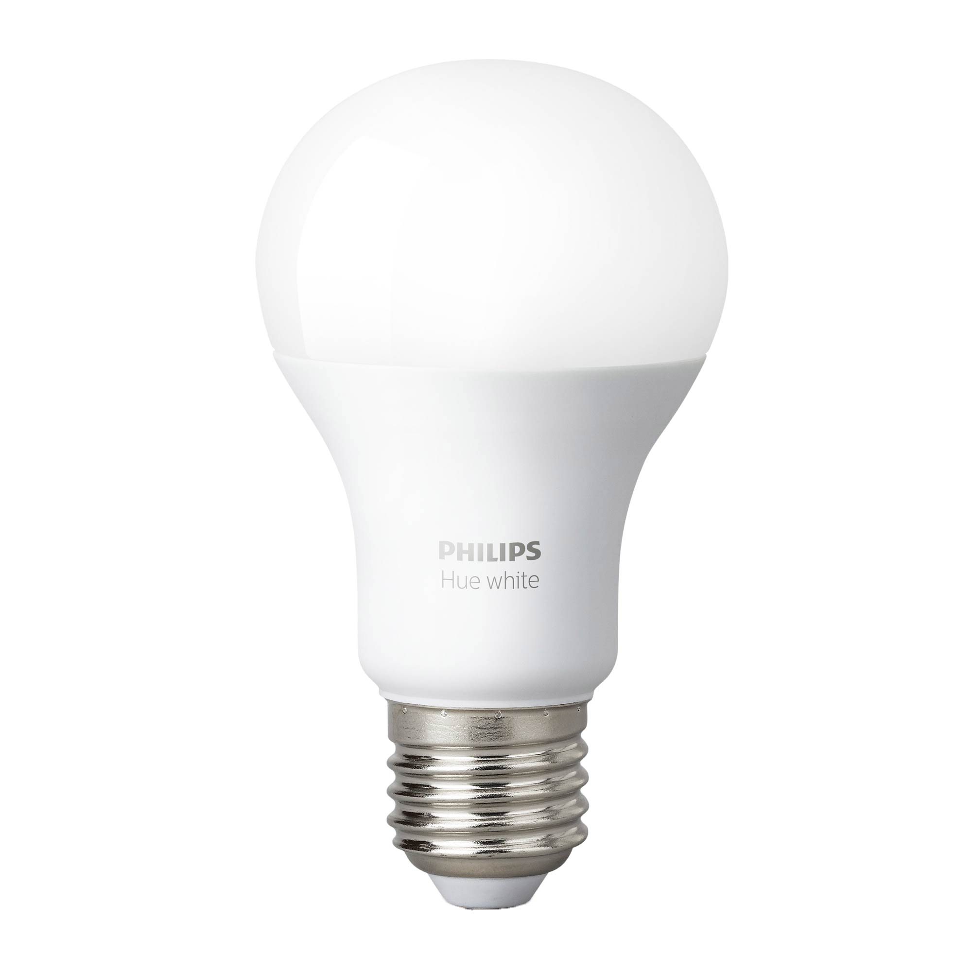 philips hue 929001137015 philips hue bulb white 9w a19 e27 eur. Black Bedroom Furniture Sets. Home Design Ideas