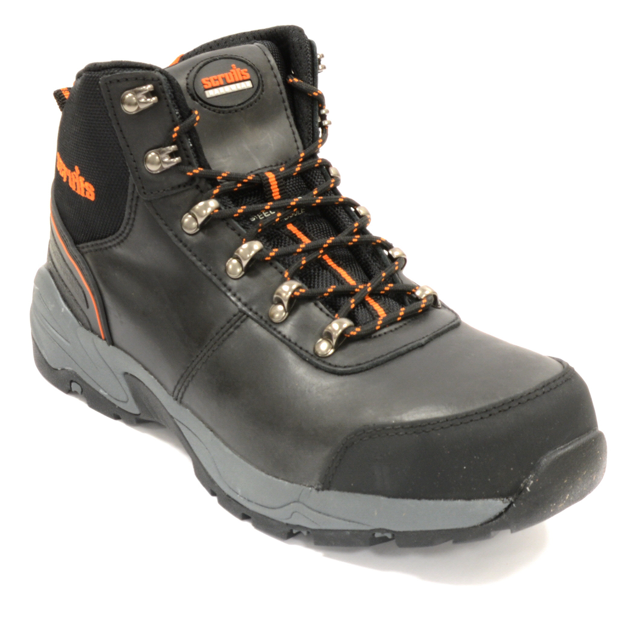1277b0cab93 Scruffs,ASSAULTBK,Assault Safety Boot - Black